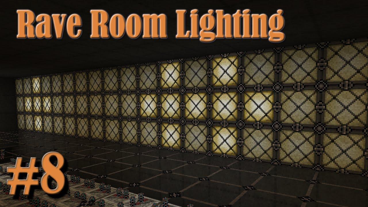Rave Room Lighting Minecraft Old World New Map 8