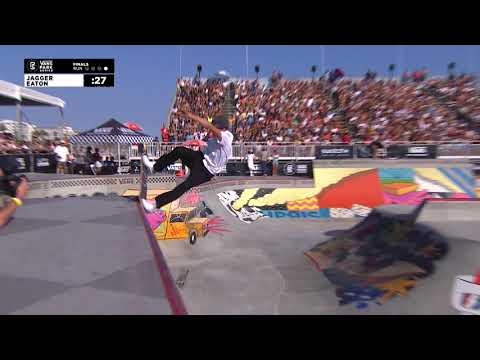 3rd Place - Jagger Eaton (USA) 87.13 | Huntington Beach, USA | 2018 Men's Vans Park Series