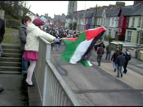 Part Dou Bloody Sunday March Palestine Solidarity