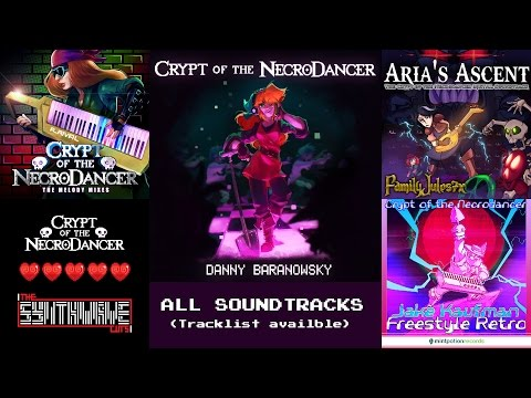 Crypt of the Necrodancer - All 5 Soundtracks [HQ] (tracklist available)