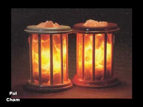 Salt Crystal Lamps - Many Types Of Polish Salt Lamps - YouTube