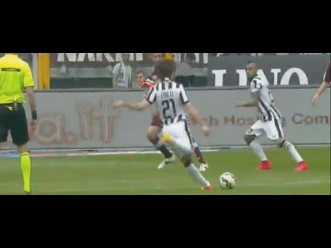 Espectacular gol de falta de Andrea Pirlo * Amazing free-kick by Andrea Pirlo