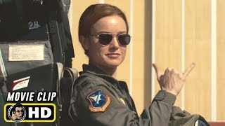 CAPTAIN MARVEL (2019) Clip - In the Clouds [HD]