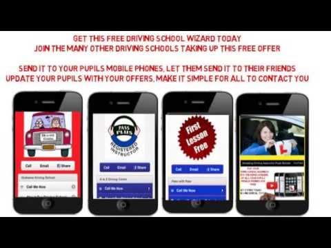 Amazing Driving school Marketing Software