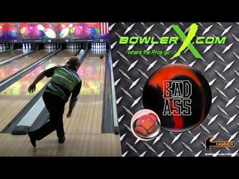 Hammer Bad Ass Bowling Ball Reaction Video