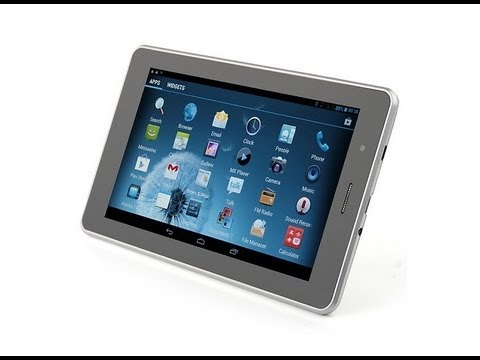 Tablet JXD Android 4.1 GPS Satélite 3G Interno Dual SIM TV FM 1GB RAM (similar P300. S9000)