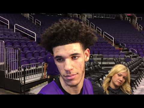 Lonzo Ball comments President Trump helping LiAngelo Ball and LeBron James' praise | ESPN