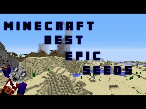 Minecraft 1.8 Best Epic Seeds with Rare Biomes
