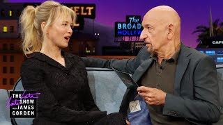 Sir Ben Kingsley Brings 'Jerry Maguire' to Life w/ Renee Zellweger