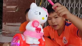 Đồ chơi trẻ em bé pin rằm tháng 8❤ PinPin TV ❤ Baby toys August full moon