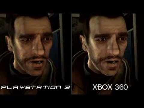 Gta iv comparison ps3 v xbox 360 youtube