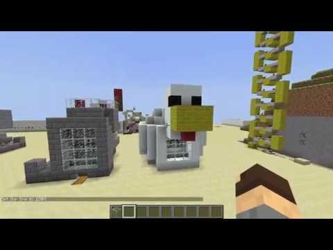 Minecraft Туториал: Автоматическая Ферма Куриц