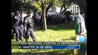 26-04-2013 Represión en el hospital Borda