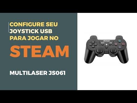 Configure seu joystick USB PC para jogar no Steam