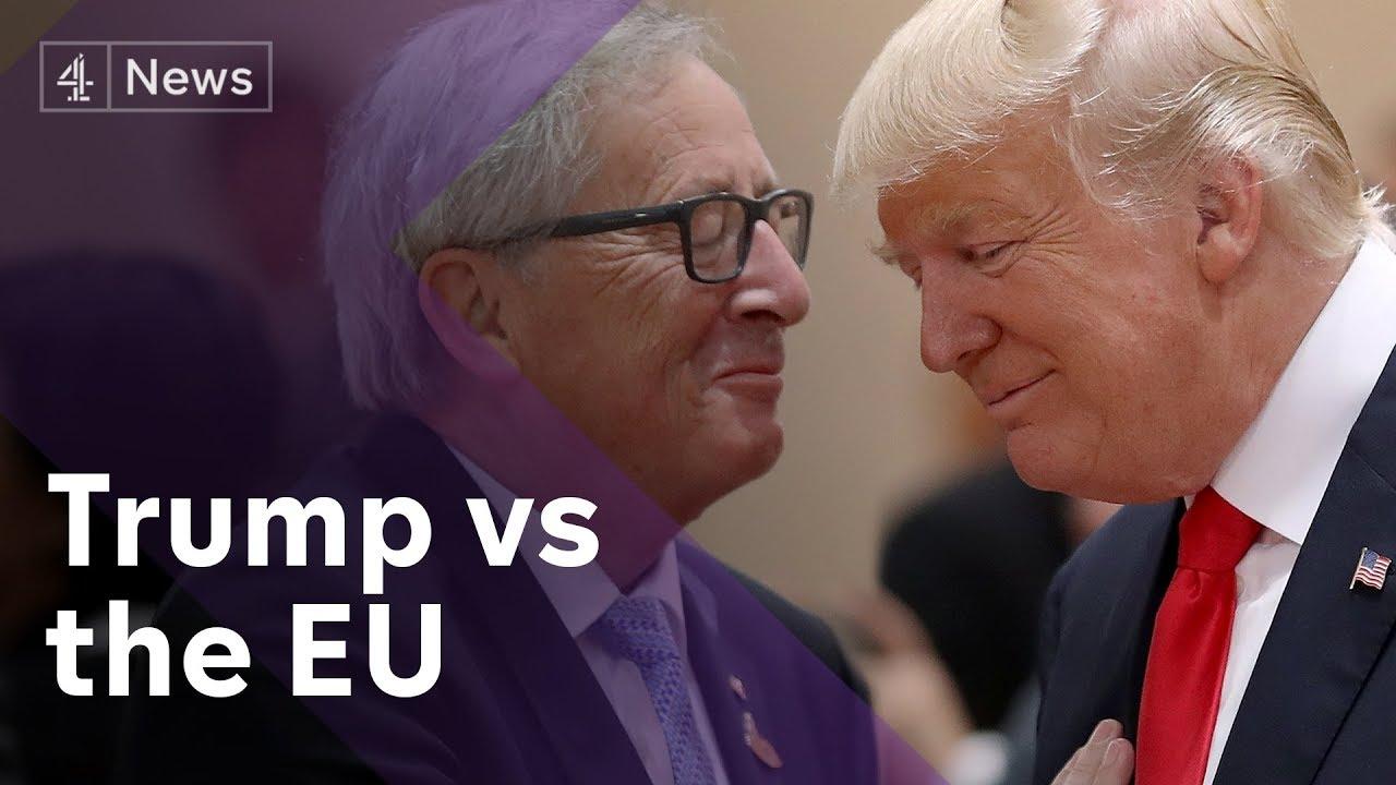 Friend or foe? Trump meets EU's Juncker amid trade war