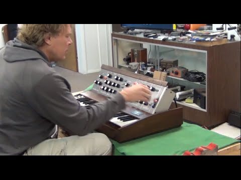 Minimoog D - Test Run - With Eric from...