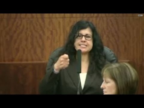 Ana Trujillo Reenacts Stiletto Killing in Court