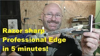 Knife Sharpening Reinvented!