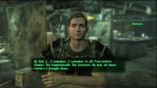 Fallout 3 - The Replicated Man - Getting both Rewards