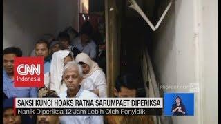 Saksi Kunci Hoaks Ratna Sarumpaet Diperiksa