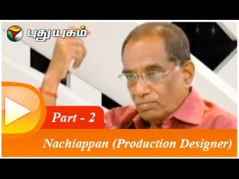 Nachiappan  (Production Designer) in Arindhathum Ariyathathum (30/03/2014) Part - 2
