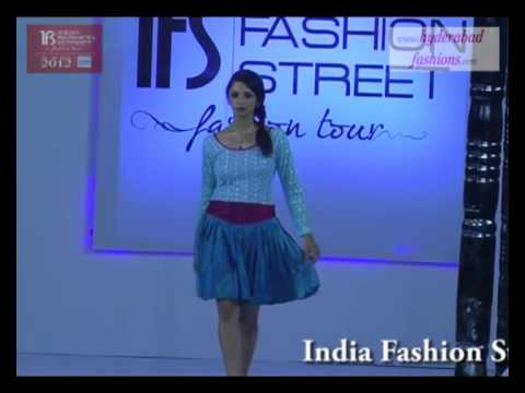 India Fashion Street Fashion Tour 2012, Fashion Designer Ram & Payal Western Collections