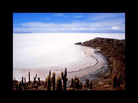 desaparece un inmenso lago en bolivia