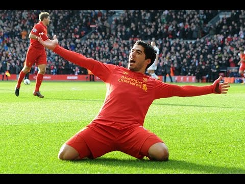 All Goals Luis Suarez [Liverpool 2011-2014]