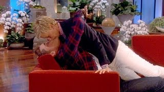 Rob Lowe and Ellen Share a Magic Moment