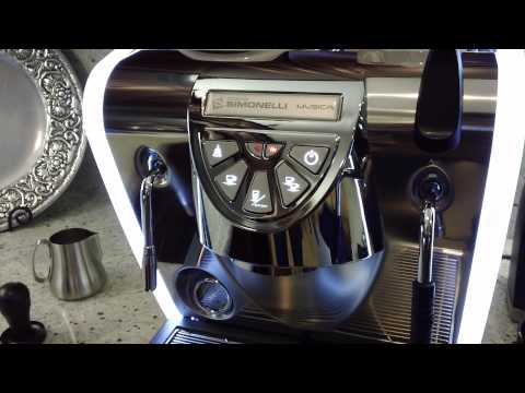 Nuova Simonelli Musica Espresso Machine Walkthrough - Barista Lab