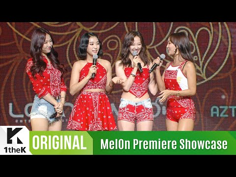 [MelOn Premiere Showcase] SISTAR(씨스타) _ I Like That, Hey You, Come And Get Me(끈) & Say I Love You