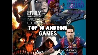 TOP 10 ANDROID GAMES AND LİNKS