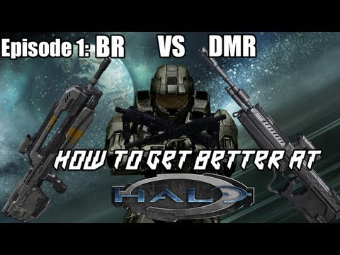 How To Get Better At Halo 4 Episode 1 - BR vs DMR