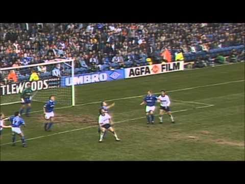 Daniel Amokachi fires Everton to Wembley in 1995