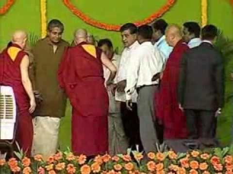 HH DALAI LAMA -30TH JAN 2011, BANGALORE,INDIA - Part 11 of 11