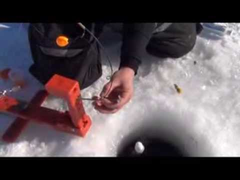 Automatic fisherman how to ice fish for Jaw jacker ice fishing