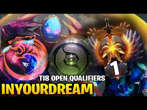 InYourDreaM Arc Warden - TNC TIGER TI8 Open Qualifiers