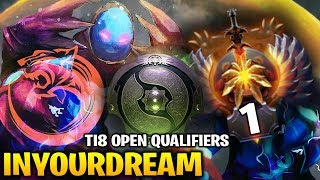 InYourDreaM Arc Warden - TNC TIGER TI8 Open Qualifiers