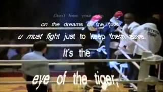 Eye of the Tiger - Lyrics