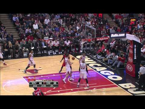 Kyle Korver  Atlanta Hawks Vs Chicago Bulls 01.17.15 HighLights