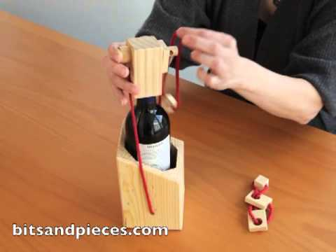 Bewildering Wine Bottle Puzzle Item 48018 Youtube