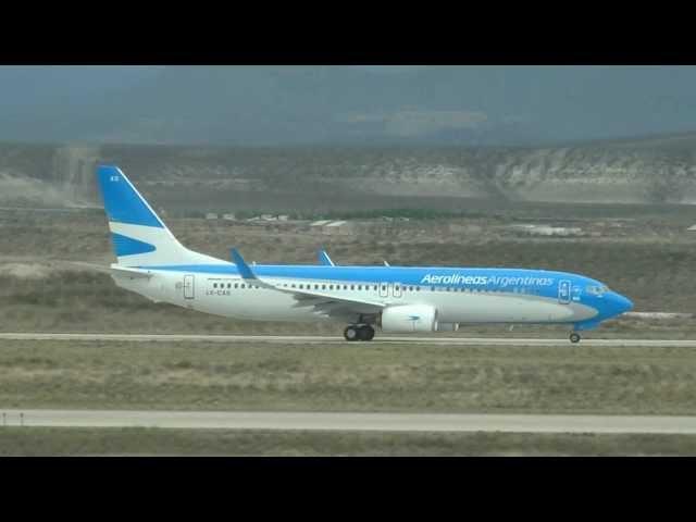 Aeropuerto Int. de Comodoro Rivadavia - SA 13 OCT 2012 (HD)