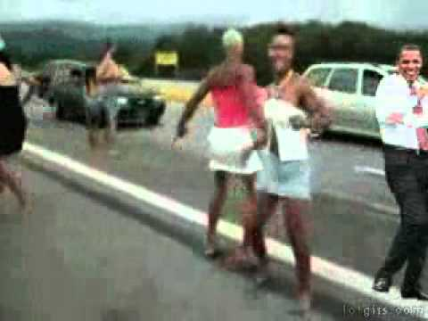 OBAMA AND HIS TRANNY NANNY HIT BY A TRUCK. Order: Reorder; Duration: 0:03 ...