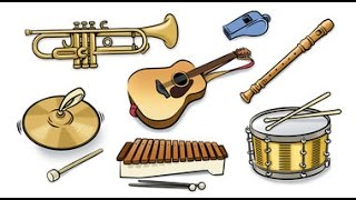English vocabulary - musical instruments