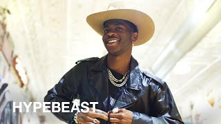 Lil Nas X Goes Shopping with HYPEBEAST at NYC's Largest Western Store