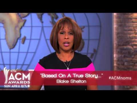2014 ACM Awards Album of the Year Nominees Presented by Gayle King