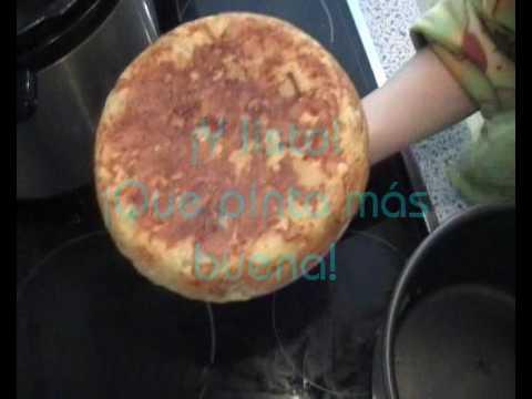 Tortilla de Patatas Olla GM - Cómo hacer tortilla de patatas ( española )