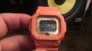 G-Shock GLX5600XA-4 IN4MATION ALOHA SALMON Limited Edition - Casio G-Shock Watch Review