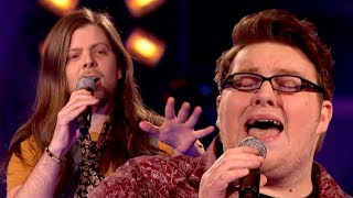 The Voice UK 2013 | Ash Morgan Vs Adam Barron - Battle Rounds 1 - BBC One