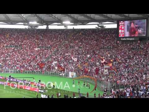 Pjanic, De Rossi, Totti e Garcia presentati all'Open Day [HD]